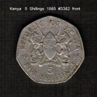 KENYA    5  SHILLINGS   1985  (KM # 23) - Kenya