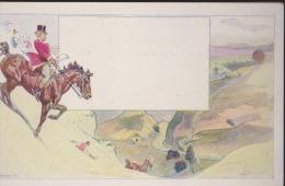 CPA: Art Nouveau:Pock Alexander (P. Et K.) Jagd : XXV/4 - Illustrateurs & Photographes