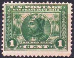 ETATS-UNIS USA  195A Dentelé 12 * MLH V. Nunez Sz Balboa Canal De Panama (cv 18€) - United States