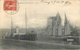 """50 - CHERBOURG -  BATEAU DE NEW HAVEN """"CALVADOS"""" VOILIER TROIS MATS - Cherbourg"""