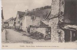 THANN 68 RUE DE L'ETANG  BOMBARDEMENTS DE JANVIER 1915 LOT DE 2 BELLES CARTES RARE !!! - Thann