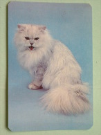 Cat / Kat / Chat 1993 ( Russia Sovjet Unie / 92-5689 ) ( Format 9 X 6 Cm - Zie Foto´s Voor Détails ! - Calendriers
