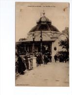 95 - CPA - ENGHIEN - LE PAVILLON DU LAC - BELLE ANIMATION - 886 - Enghien Les Bains