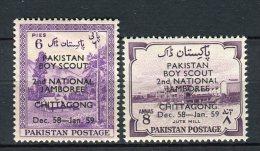 Pakistan 1958. Yvert 102-03 ** MNH. - Pakistan