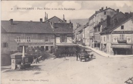 BELLEGARDE  PLACE KLEBER ET RUE DE LA REPUBLIQUE - Bellegarde-sur-Valserine