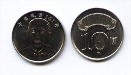 2012 Taiwan Rep Of China Sun Yat-sen SYS NT$10.00 Coin - Taiwan