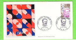 France N° 1768 _ Premier Jour Thiaude _ Pasteur - Louis Pasteur