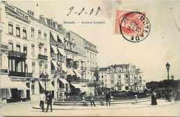 Pays Div- Belgique - Ref B20- Ostende - Avenue Leopold - Carte Bon Etat - - Belgique