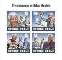 NIGER 2013 NELSON MANDELA MICHAEL JACKSON DIANA B GATES S/S MNH - Famous People