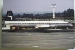 TRANSGLOBE AIRWAYS    BRITANNIA   G ATLE   GENEVE AIRPORT - 1946-....: Era Moderna