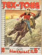 Tex-Tone N°77 - Halligan N'aime Pas La Musique - Rodéo- 1960 - - Petits Hommes, Les
