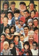 Nations Unies (Vienne) - Carte De Voeux - 1995 - Yvert N° BF 6  - Cinquantenaire Des Nations Unies - Centre International De Vienne