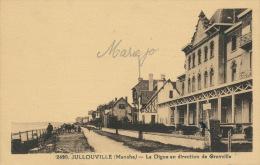 JULLOUVILLE  - La Digue En Direction De Granville - France