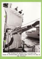 Aviso A69 QM ANQUETIL, Ravitaillement En Gazole, Années 77, 17.6 X 12.7 Cm - Boats