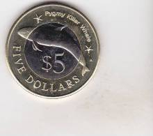 Micronesia 5 Dollars 2012 BU , Bimetallic - Micronesia