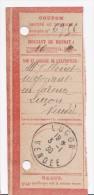 LUCON De 1930 Sur Coupon De Mandat - Rare !!        P009 - Autres