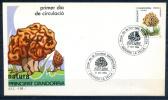 Spanish Andorra 1984 / Mushrooms FDC Fungi Setas SPD / Ie38   C - Champignons