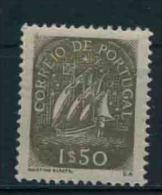 1949 Portogallo, Caravella Da 1,50 Nuova (**) Leggera Grinza Nella Gomma Vedere Scansione Retro - Nuovi