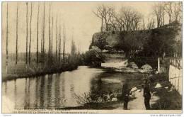 24-BOURDEILLES-près Périgueux Les Bords De La Dronne Et Les Promenades-animée- Pionnière Dos Non Divisé - Francia