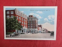 Oklahoma > Bartlesville  Johnstone Avenue Stamp Peeled Off Back -ref 1136 - Bartlesville