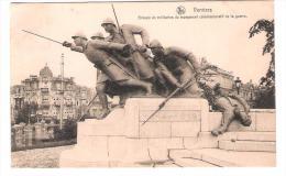 Belgie - Verviers - Groupe De Millitaires Du Monument Commemoratif De La Guerre - Verviers
