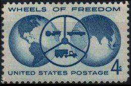 ETATS-UNIS USA 699 ** MNH Exposition Automobile Détroit Volant Auto Car Globe - United States