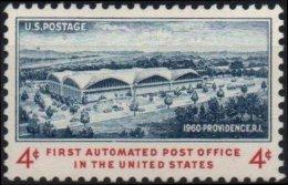 ETATS-UNIS USA 701 ** MNH Inauguration 1er Bureau De Poste Automatique Providence - United States