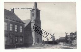 Zundert - Kerk Achtmaal Met Molen - Other