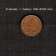 EL SALVADOR    1  CENTAVO   1966  (KM # 135.1) - El Salvador