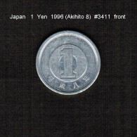 JAPAN    1  YEN   1996  (AKAHITO 8---HEISEI PERIOD)  (Y # 95.2) - Japan