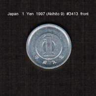 JAPAN    1  YEN   1997  (AKAHITO 9---HEISEI PERIOD)  (Y # 95.2) - Japan
