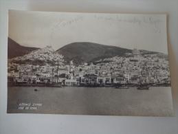 CPA PHOTO SYRA GRECE - Greece