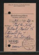 GERMANY THIRD REICH 1939 GLEIWITZ GLIWICE POLAND DEPOSIT RECEIPT - Covers & Documents