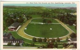 Etats Unis Lancaster Ohio Race Track Horse Racing Fair Grounds And New Amphithéatre  TBE - Lancaster