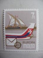 """Malte 1979 N°Y&T: 583"""" Courrier Bateau Avion """" Neuf - Malta"""
