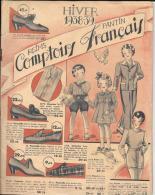 CATALOGUE COMPTOIRS FRANCAIS - REIMS-PANTIN - HIVER 1938-39 - Livres, BD, Revues