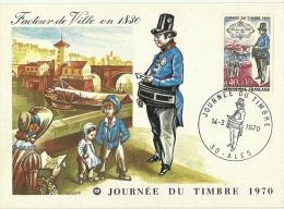 France / Maxi Card / Postman - Post