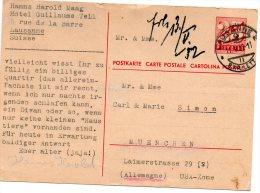Nr. 420,  Ganzsache , Schweiz - Interi Postali
