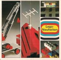 LEGO SYSTEM - LEGO NEUHEITEN  - Petit Catalogue (en Allemand) - Catalogs