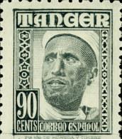 Tanger 161 * Hombre.  1948. Charnela - Marruecos Español