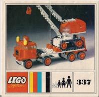 LEGO SYSTEM - 337 - Plan Notice. - Plans