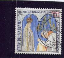 VATICAN, 2000, USED # 1189,  TRAVELS Of JEAN PAUL 11: FATIMA,  USED - Vatican