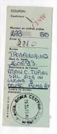 ROMA CENTRO CORRISP. P   -  1993  - Cedoletta Cedola   - MOLTO RARO !!!!   - P049 - 6. 1946-.. Repubblica