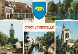 CRECY LA CHAPELLE MULTIVUES (dil232) - Andere Gemeenten