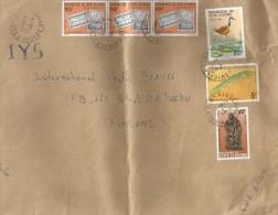 Cote D'Ivoire 1991 Bingerville Jacana Bird Banknotes Monnaie Statue Fish Cover - Ivoorkust (1960-...)