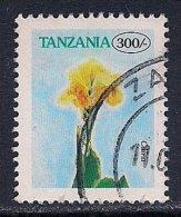 Tanzania ~ 1996-2002 ~ 300s. Defin ~ Flowers ~ SG 2081 ~ Used - Tanzania (1964-...)
