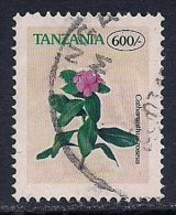 Tanzania ~ 1996-2002 ~ 600s. Defin ~ Flowers ~ SG 2084 ~ Used - Tanzania (1964-...)