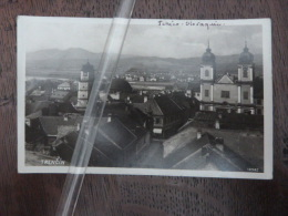 Trencin   RPPC Carte Photo N°18982 - Tschechische Republik