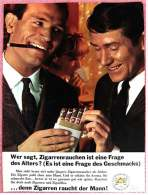 Reklame Werbeanzeige  -  Wer Sagt, Zigarrenrauchen Ist Eine Frage Des Alters?  -  Von 1965 - Literatur