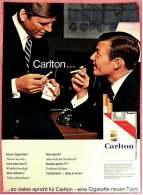 Reklame Werbeanzeige  -  Carlton Cigaretten  -  ...so Vieles Spricht Für Carlton  -  Von 1965 - Literatur